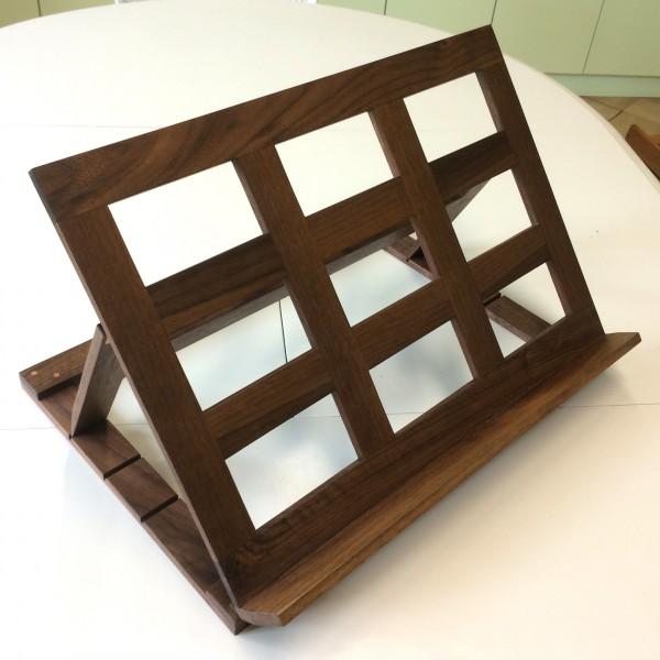 Buchpult Holz Nussbaum