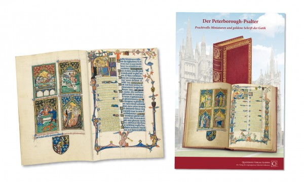 Der Peterborough-Psalter - Faksimilemappe