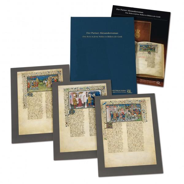 Der Pariser Alexanderroman - Faksimilemappe
