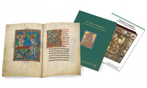 Das Speyerer Evangelistar - Faksimilemappe