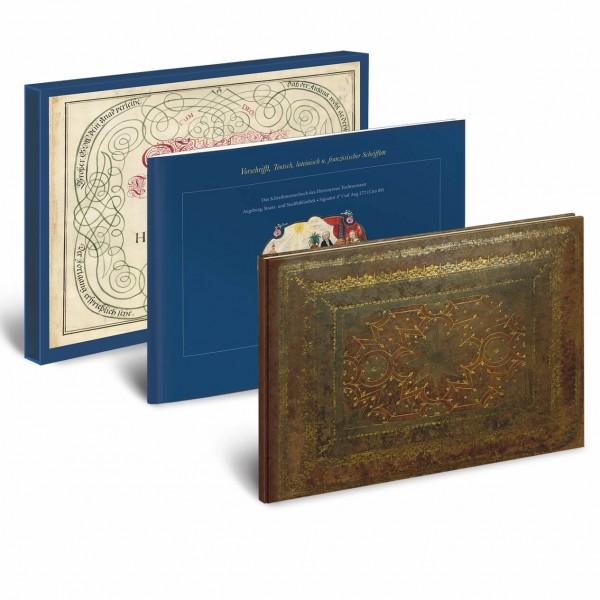Vorschrifft, Teutsch- lateinisch- und französischer Schrifften - Kunstbuch